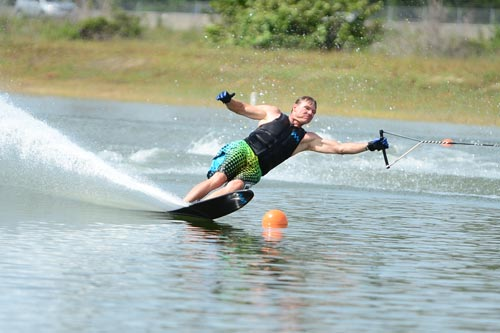 Dr. Neff is a competitive waterskier